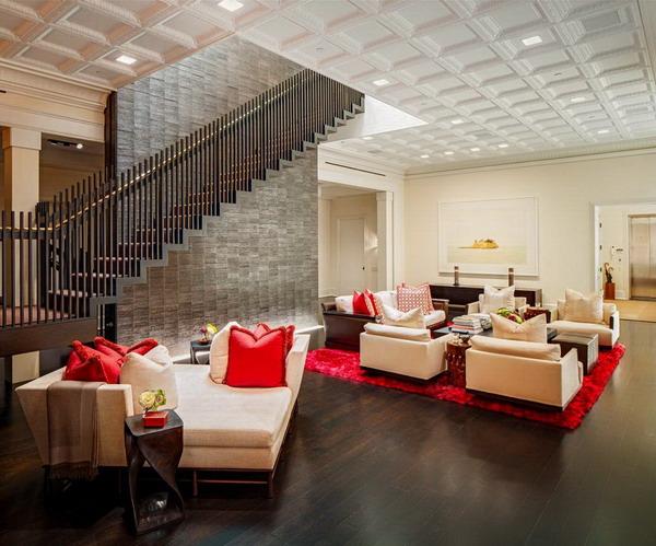 Modern penthouse in New York