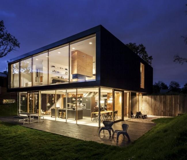 Villa V: simple and enchanting villa design