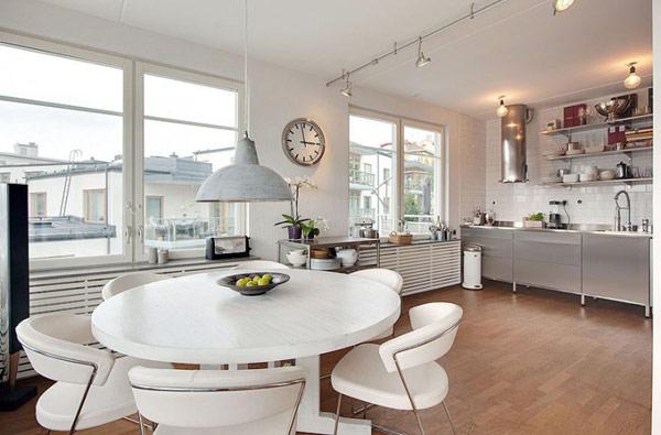 Swdish apartment interior design