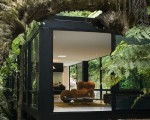 The glass house: a retreat into nature