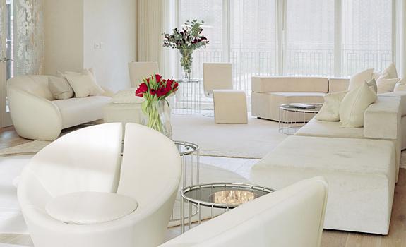 White Interior Design: The Kensington House