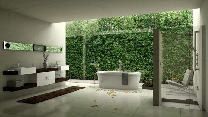 How to get a modern stylish bathroom