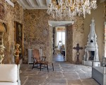 Creating an imaginative world: an antique interior