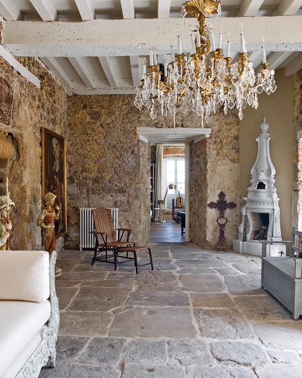 Creating an imaginative world: an antique interior