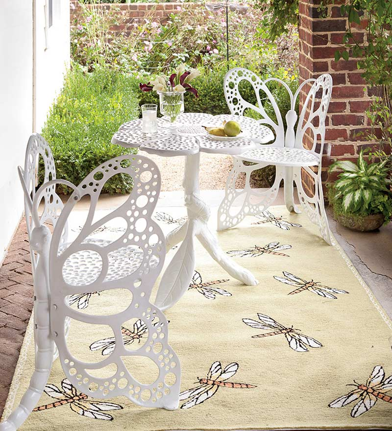 Butterfly garden furniture set