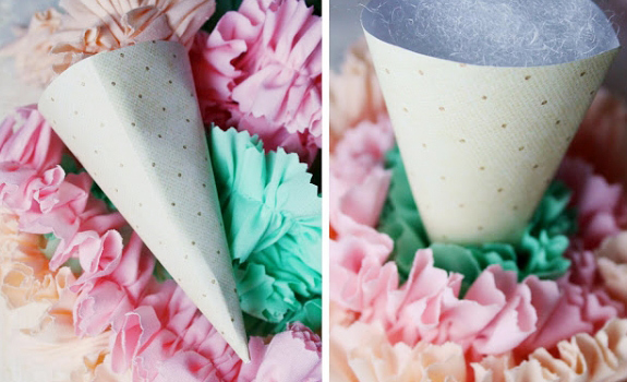 DIY Ice Cream Cone Decoration
