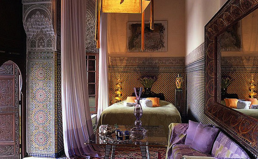 Exotic interior in Marrakech