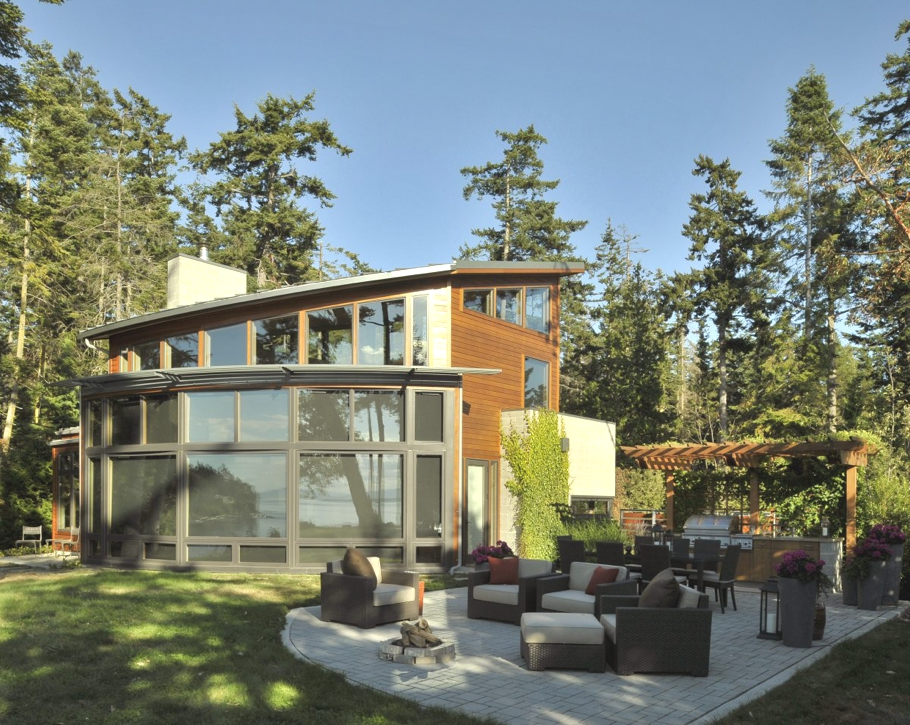 A family friendly modern residence