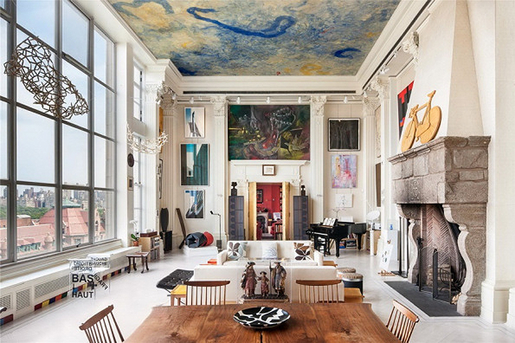 Excuse us, while we dream: a New York apartment
