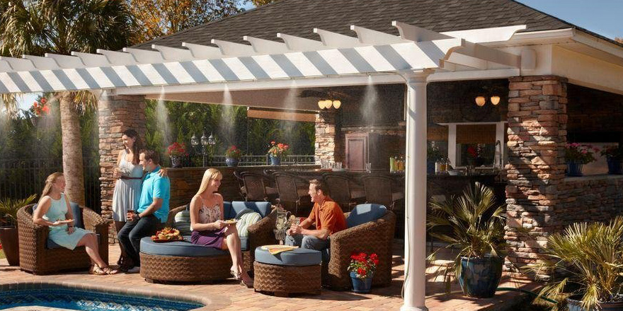 Arctic Cove Patio Misting System – Adorable Home