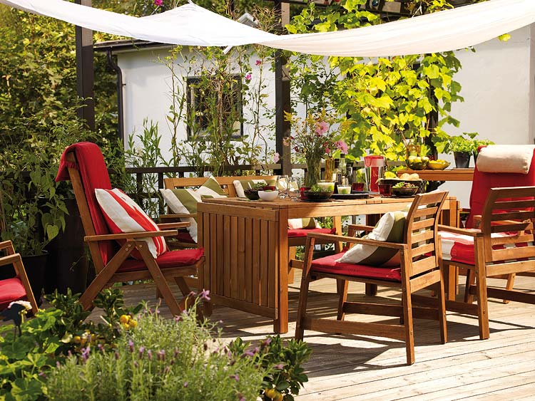 It's a perfect time for summertime patio ideas