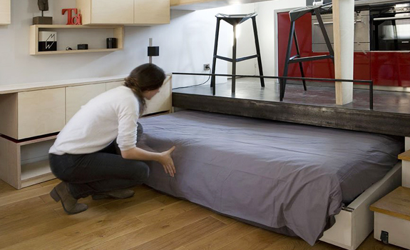 Space Solutions: Hidden Beds