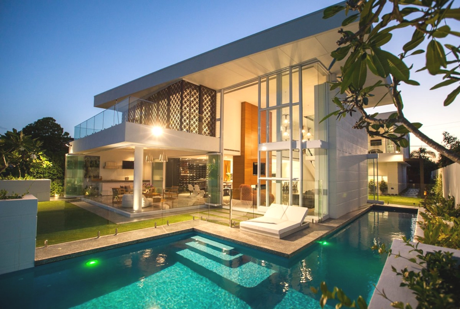 The very definition of a luxury beach house