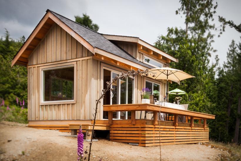 A wonderful idea and a tiny cabin