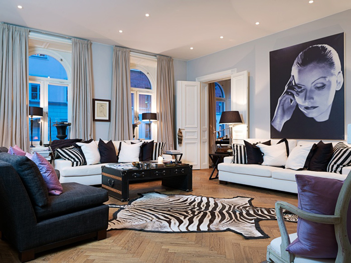 Alluring and sumptuous: a luxury apartment