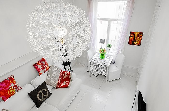 Big design & a tiny apartment