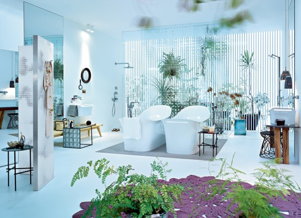 Exceptionally stylish bathrooms