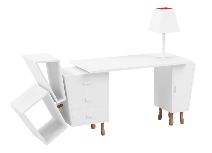 Inspiring and creative: an office desk