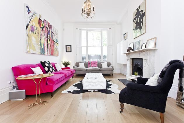 Bold and engaging detail: a modern classic interior