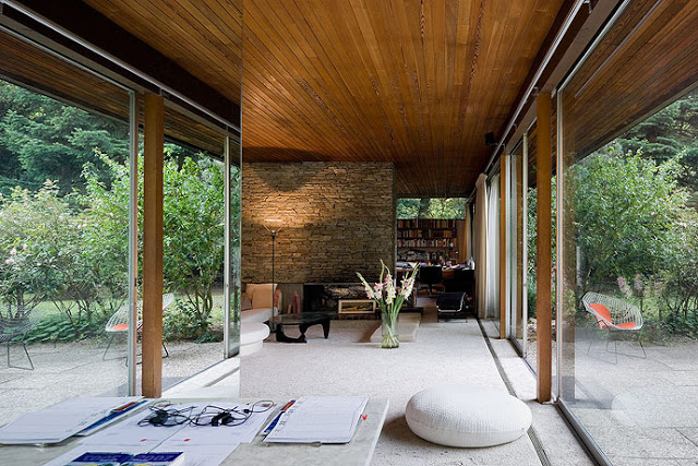 Neutra's nature house