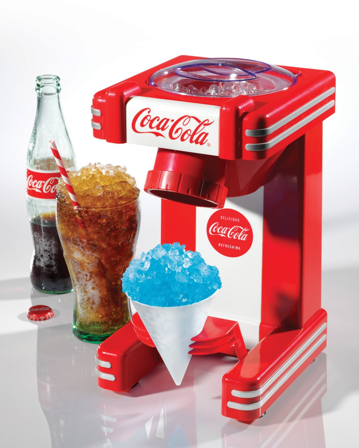 Retro Coca Cola snow cone maker