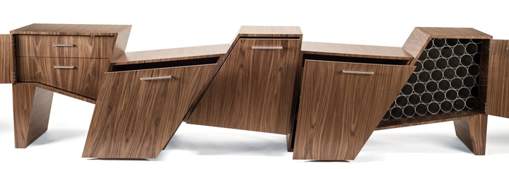 Sleek cabinet design