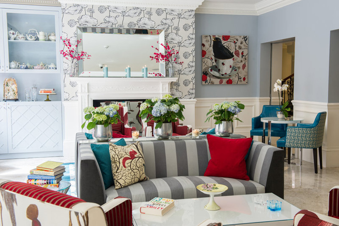 South Kensington's amazing hotel