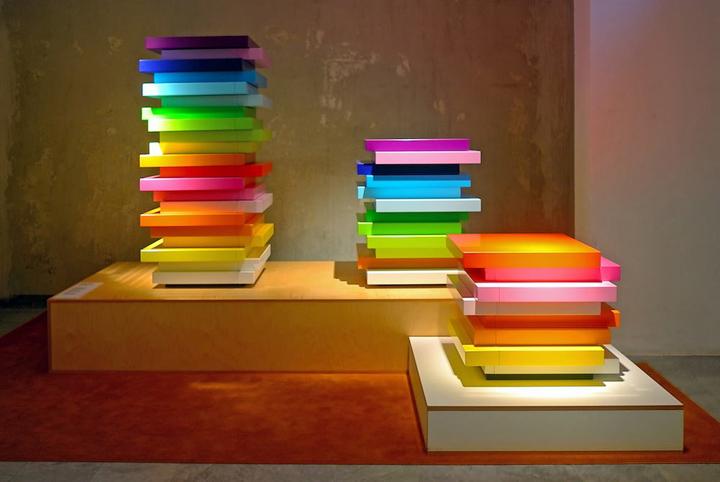 Storage units as art