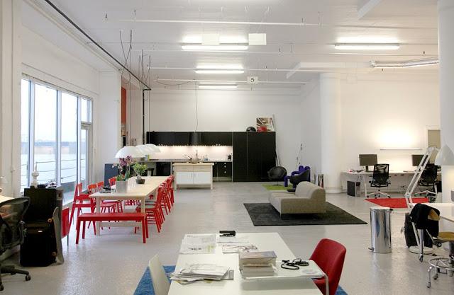 A modern office in Norway