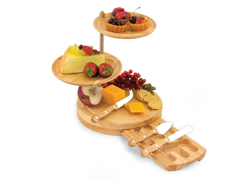 3-tier Cheese Serving Set