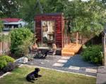 A remarkable backyard office