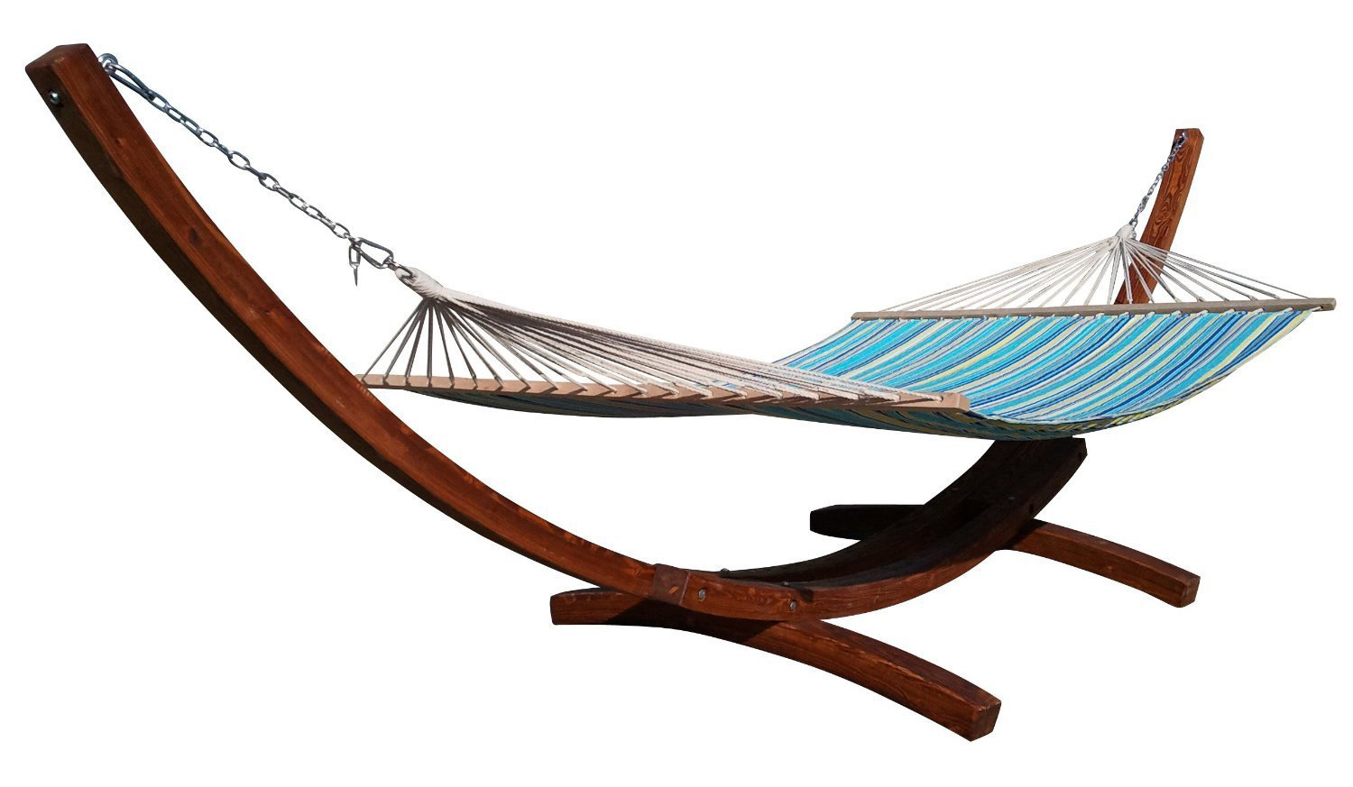 Arc wooden hammock stand – Adorable Home