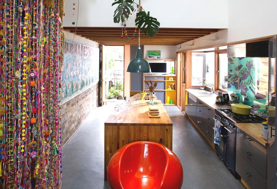 Colorful decor in Sydney