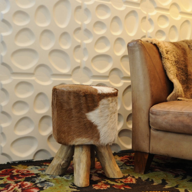 Eco-friendly 3D wall panels