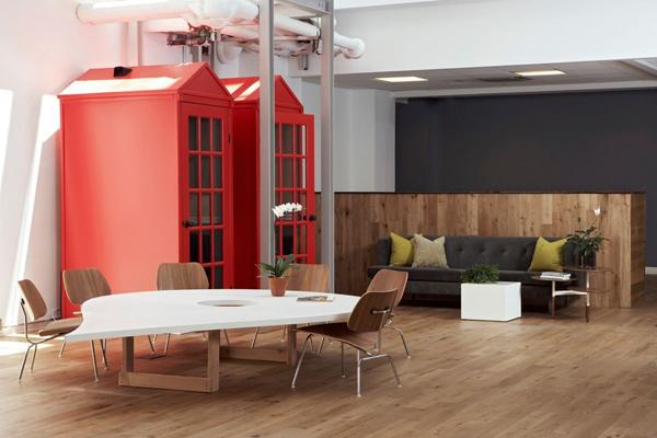Foursquare's cool office design