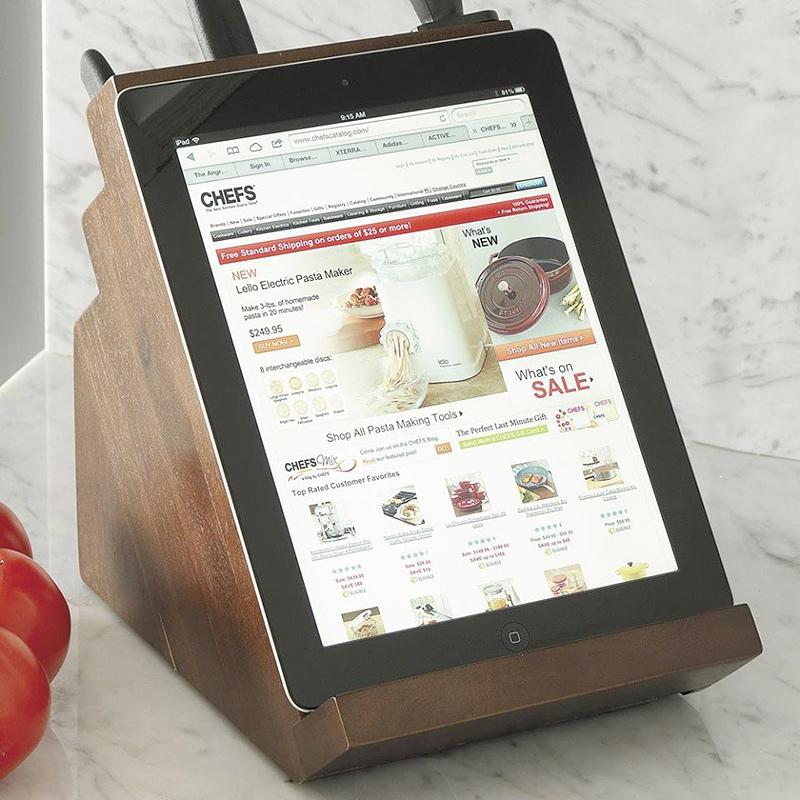 Knife Block+iPad Holder by Victorinox