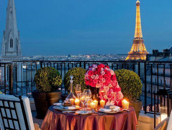 Luxurious Paris penthouse
