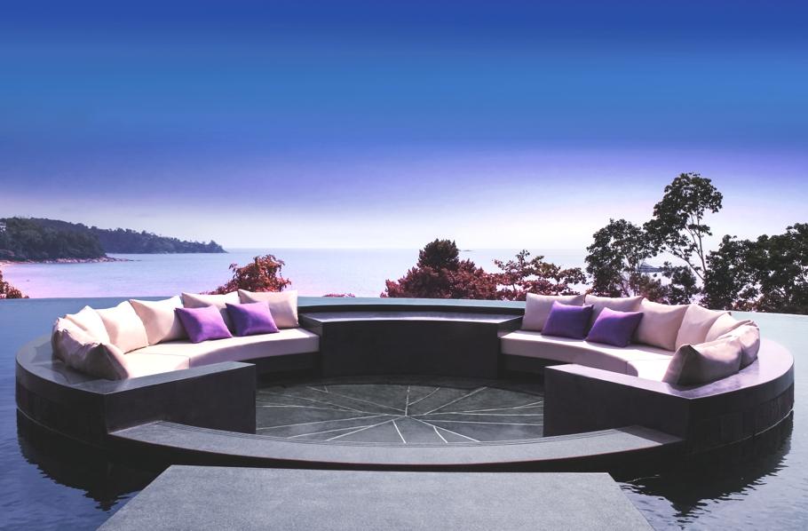 Luxury island resort in Phuket