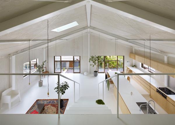 Minimal and beautiful: a warehouse conversion