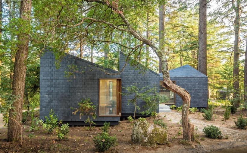 Modular cabins in Portugal