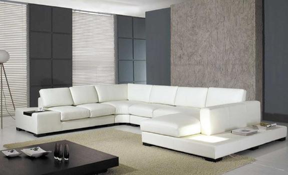 Multi Purpose Leather Sectional Sofa Adorable Home