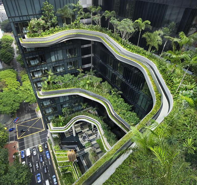 PARKROYAL sky garden