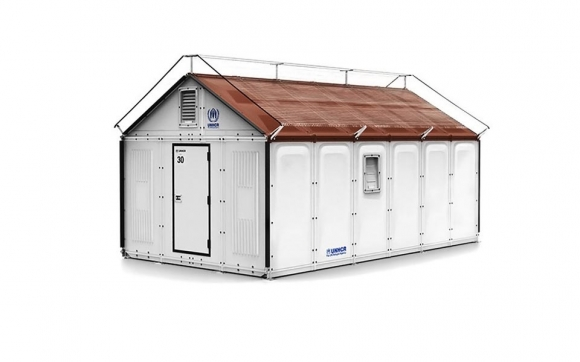 Providing solutions with the IKEA refugee shelters