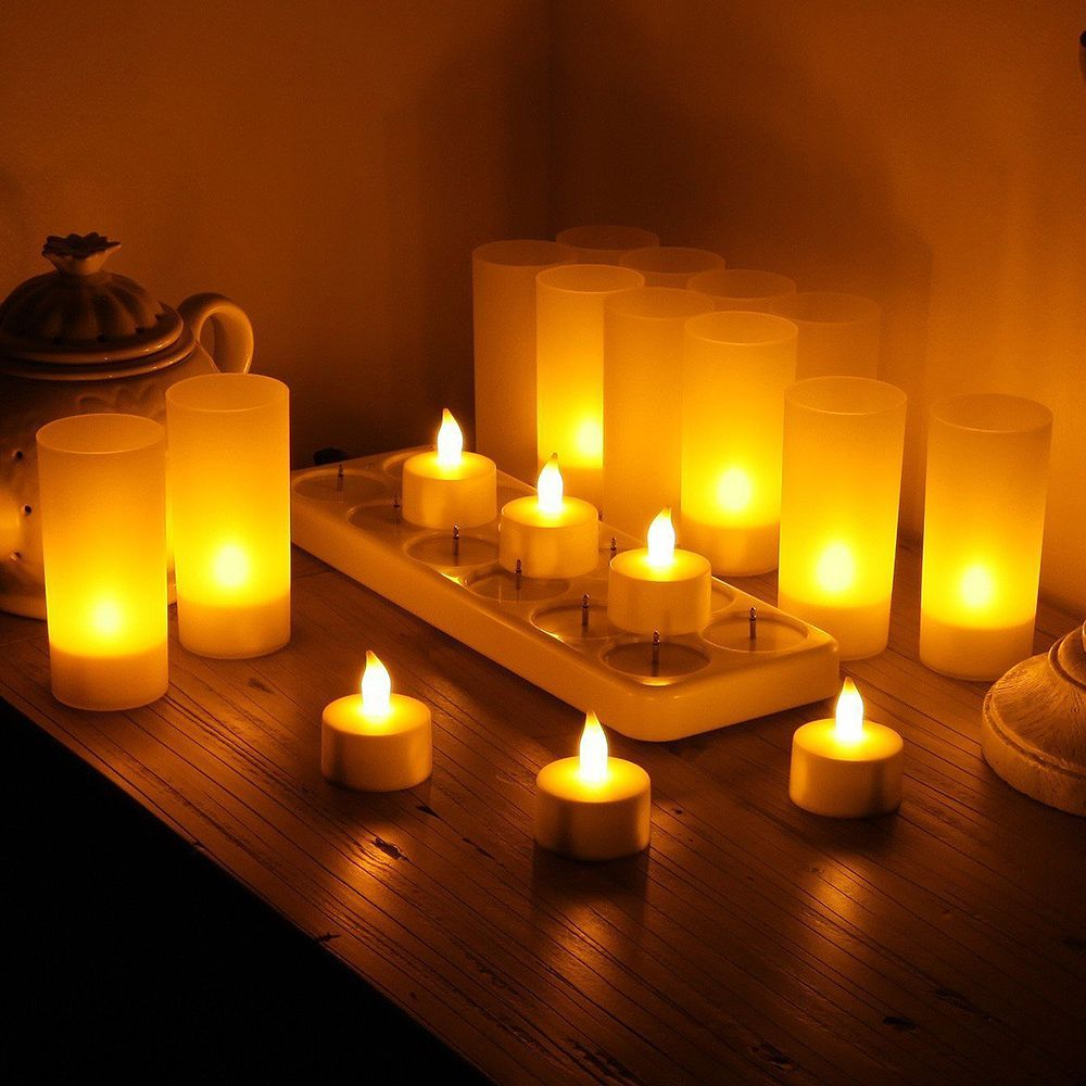 Rechargeable-Flameless-Candles