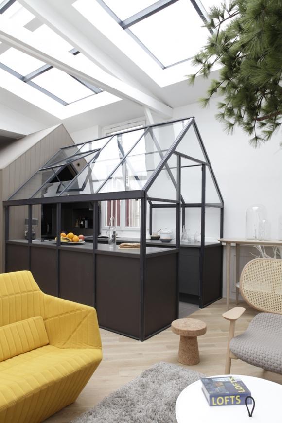 Unique and eccentric: a contemporary loft