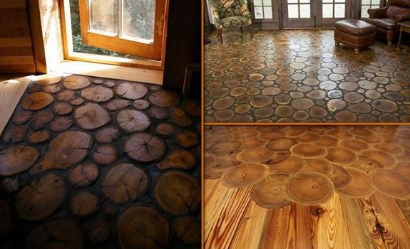 Types of wood floor