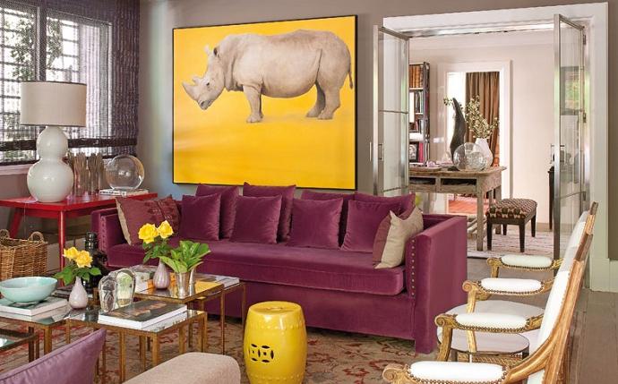 A bold Madrid apartment