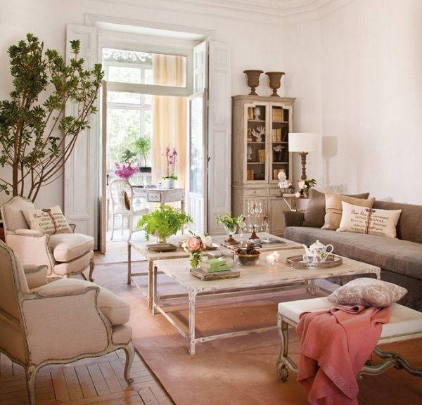 A romantic interior by Isabel Flores