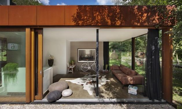 A wonderful house by Zecc Architecten