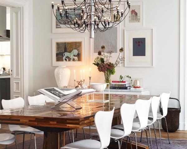 Cozy and bright: a classic interior